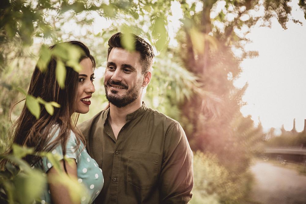 Fotógrafo bodas Badajoz, Sevilla y Mérida. Preboda en Mérida