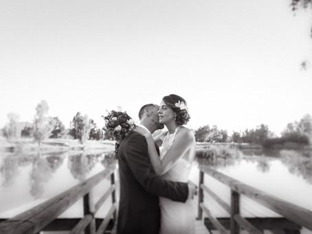 La boda de J + A