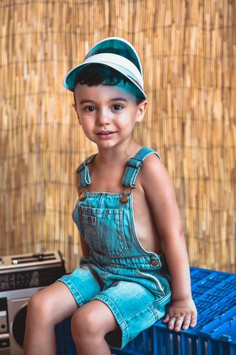 Mini sesión fotográfica infantil en Mérida Badajoz de verano para niños niñas y bebés 02