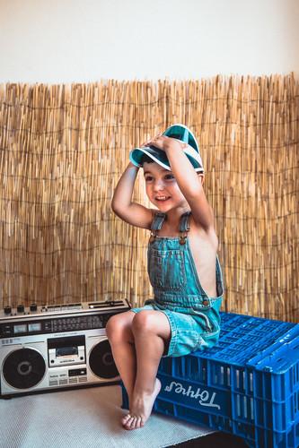Mini sesión fotográfica infantil en Mérida Badajoz de verano para niños niñas y bebés 01