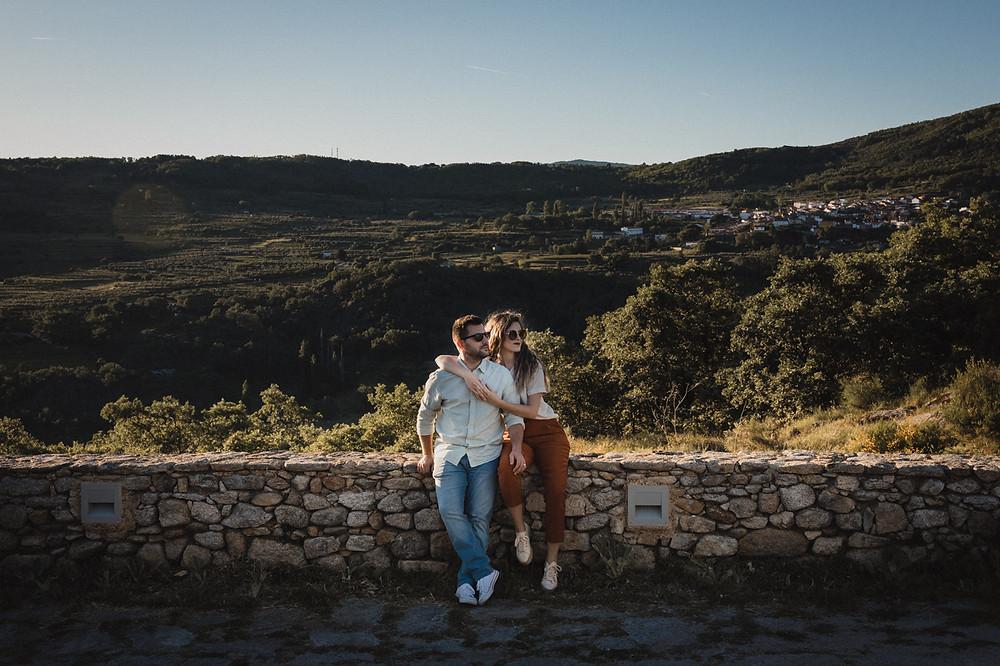 Sesion preboda en San Martin de Trevejo. Estrella Diaz Photovisual, fotografa de bodas en Badajoz, Merida, Sevilla, Huelva, Cadiz, Caceres. Reportaje de bodas natural. Extremadura y Andalucia.