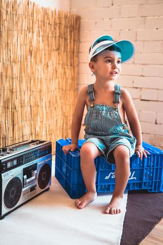 Mini sesión fotográfica infantil en Mérida Badajoz de verano para niños niñas y bebés 04