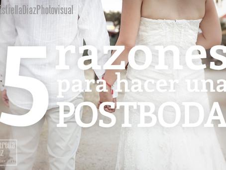 5 razones para hacer una Postboda