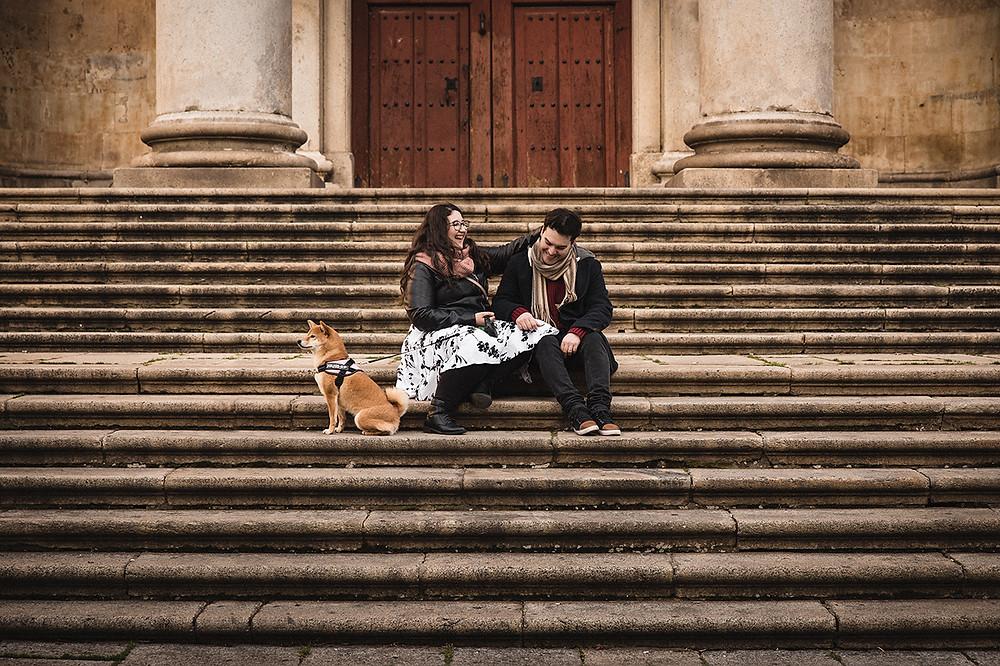 Sesion preboda en Salamanca. Estrella Diaz Photovisual, fotografa de bodas en Badajoz, Merida, Sevilla, Huelva, Cadiz, Caceres. Reportaje de bodas natural. Extremadura y Andalucia.