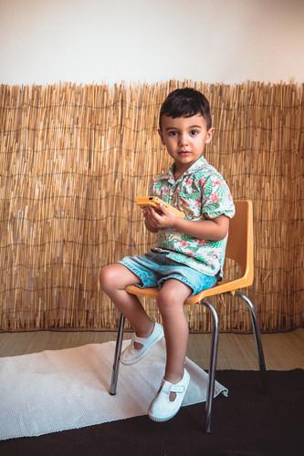 Mini sesión fotográfica infantil en Mérida Badajoz de verano para niños niñas y bebés 03