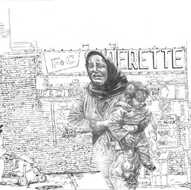 Untitled (The Refugee)