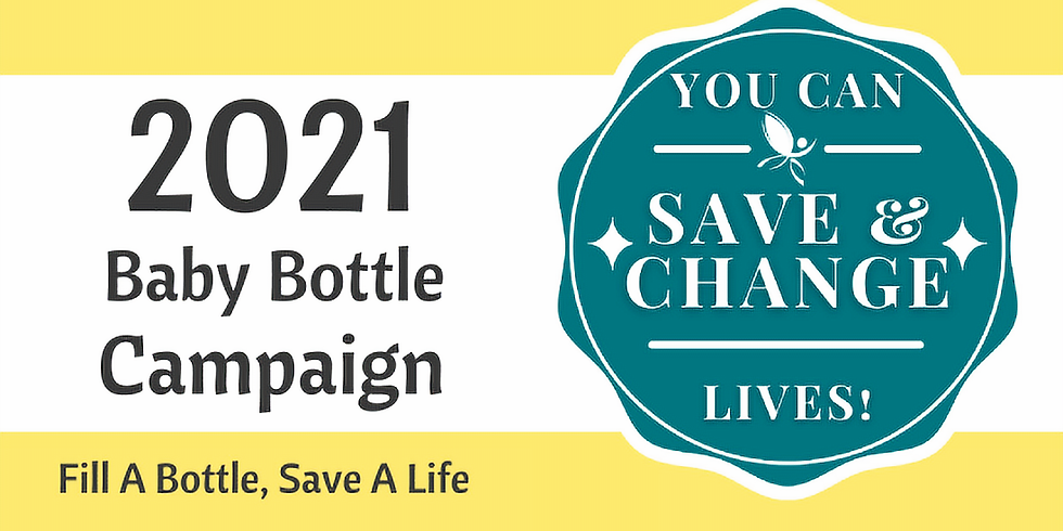 Our Virtual Baby Bottle Campaign