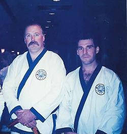 Master John Gehosky with Master Joe Goss