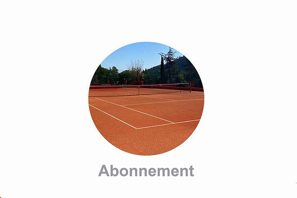 Abonnement Tennis Couples