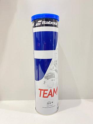 Boite de 4 balles tennis Babolat Team