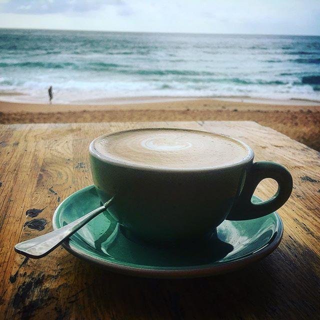 Caffeinating the muse #avalonbeach ##dou