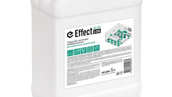 Профессиональное чистящее средство EFFECT ALFA 106 Универсал, 5л