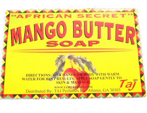 African Secret Mango Butter Soap Delorisvenue