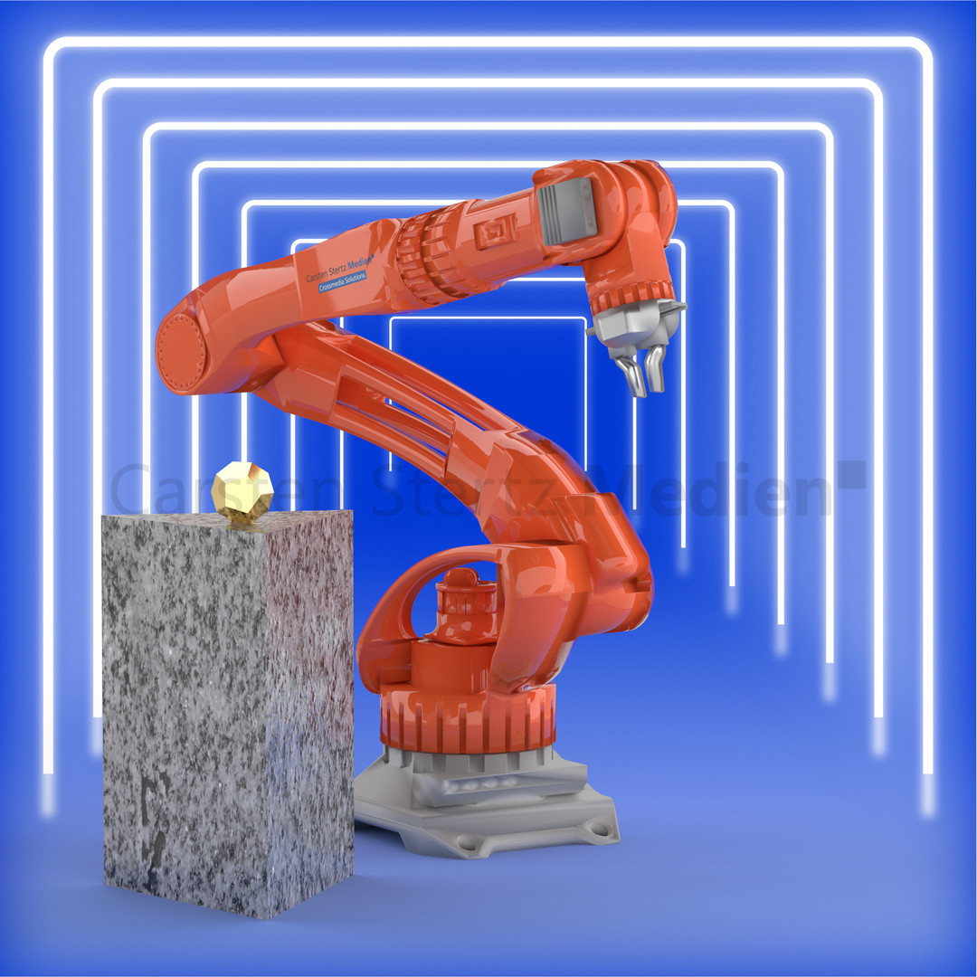 CSM Visualisierung Roboterarm
