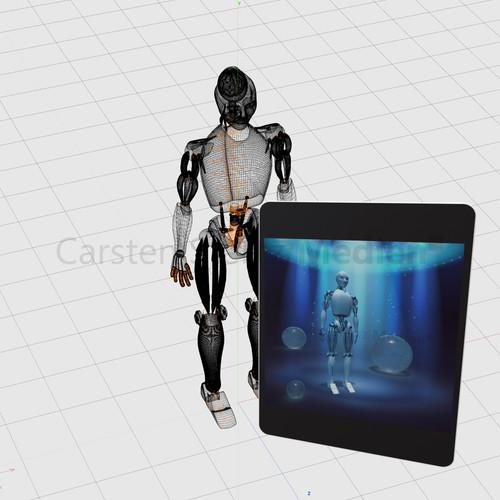 CSM CAD Roboter
