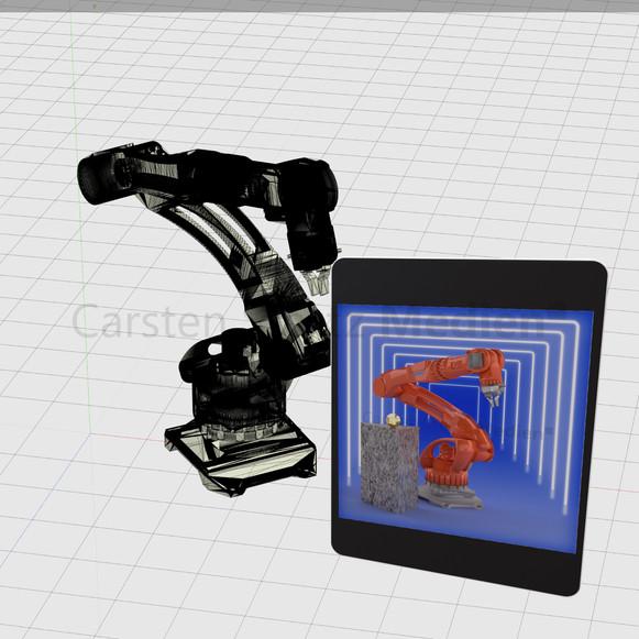 CSM CAD Roboterarm
