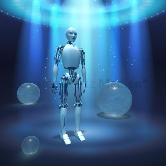 CSM Visualisierung Roboter