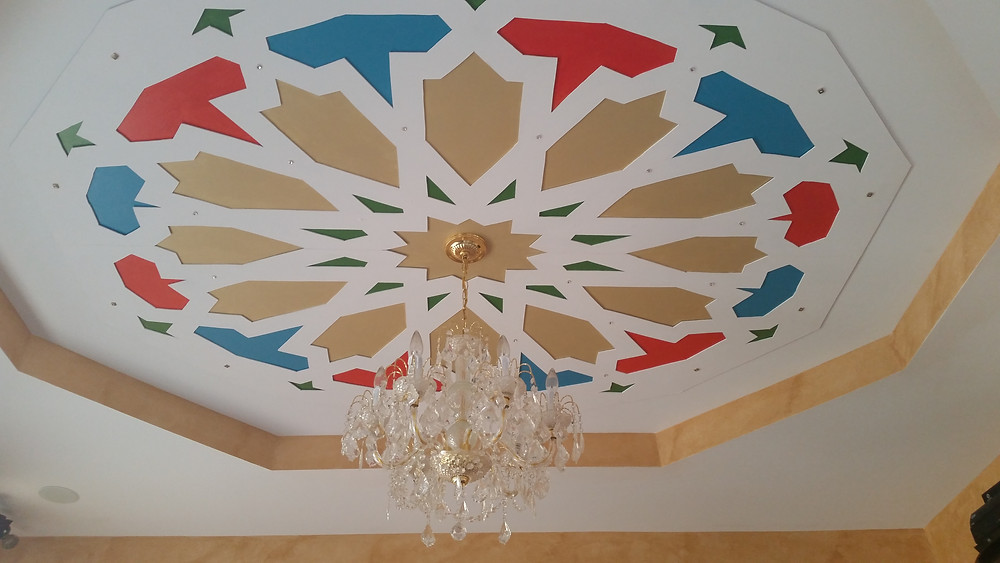 3D  Moroccan Ceiling Design by Skip Frost