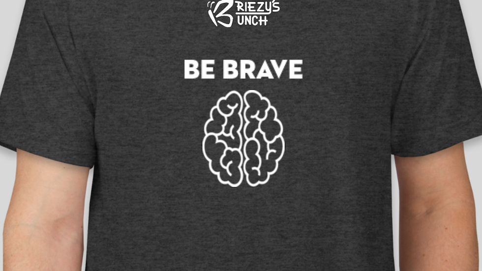Be Brave Brain T-shirt