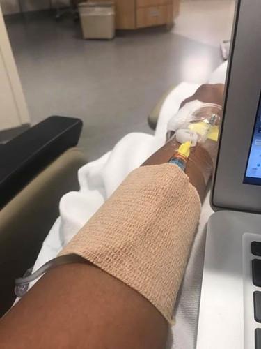 IV's are no biggie.