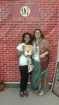 Me and Professor Trelawney!