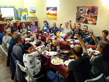 הדוג'ו חוגג במסעדת גוג'ו