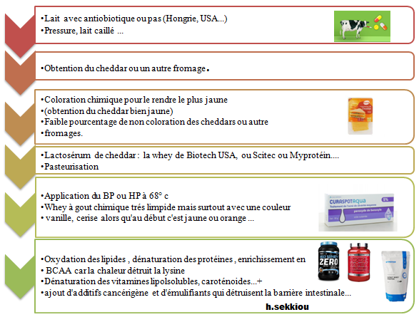 Partie 2 80 Des Whey Sont Issus Du Fromage