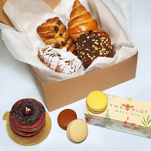 CARE PASTRY BOX