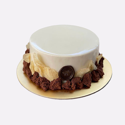 CHOCOLATE X BANANA MILKSHAKE CAKE (1kg)