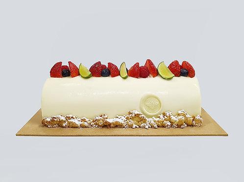 YOGURT x STRAWBERRY x LIME LOG CAKE (1.2kg)
