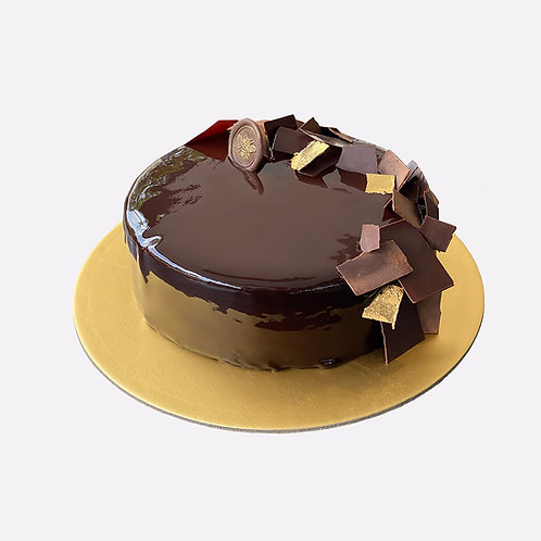 CHOCOLATE X PASSION FRUIT CAKE (1kg)