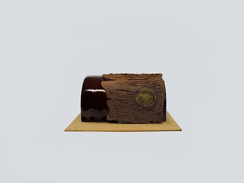 CHOCOLATE x PASSION FRUIT LOG CAKE (0.6kg)