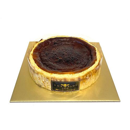 BASQUE BURNT CHEESE CAKE (1KG)