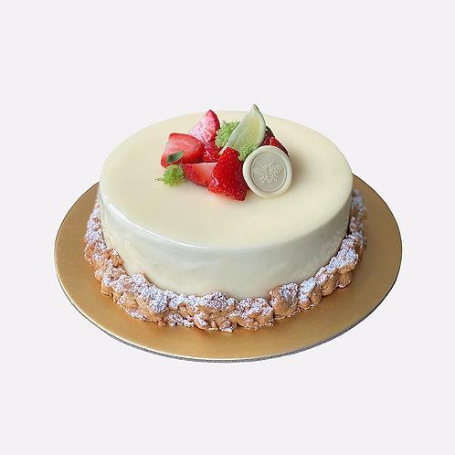 YOGURT X STRAWBERRY X LIME CAKE (1kg)