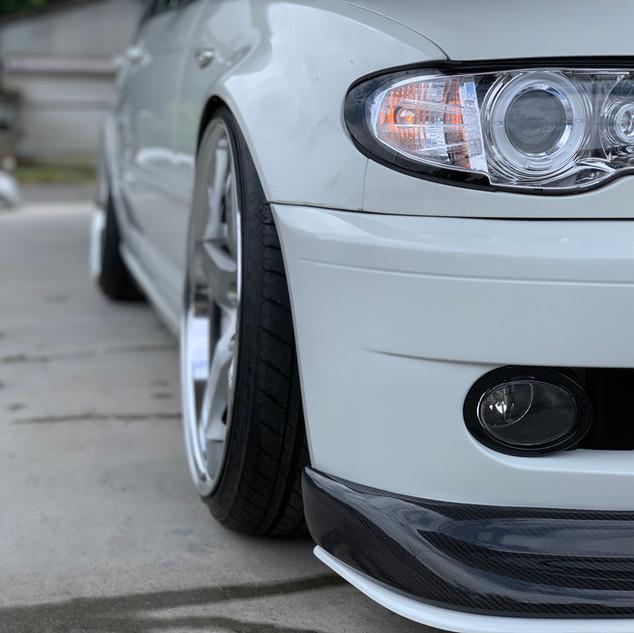 BMW 320i E46-③ ツライチセッティング