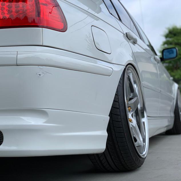 BMW 320i E46-⑤ ツライチセッティング