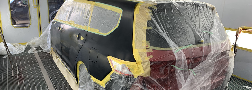RB3-④ ボディ全塗装下処理