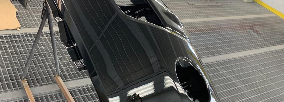 Z50ムラーノ-② 純正バンパースムージング