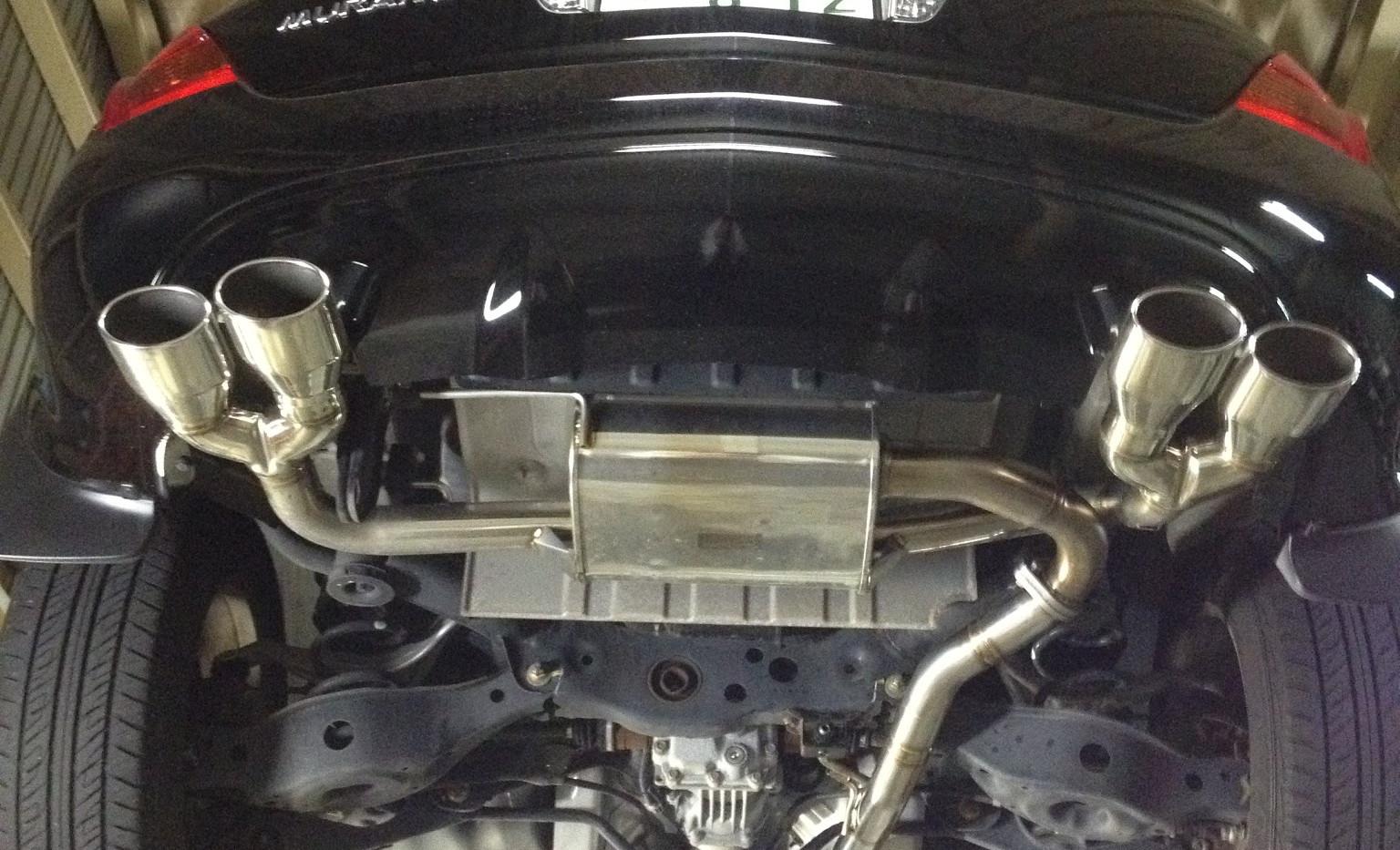 Z50ムラーノフルエキゾースト