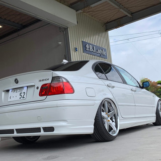 BMW 320i E46-④ スタンス系カスタム