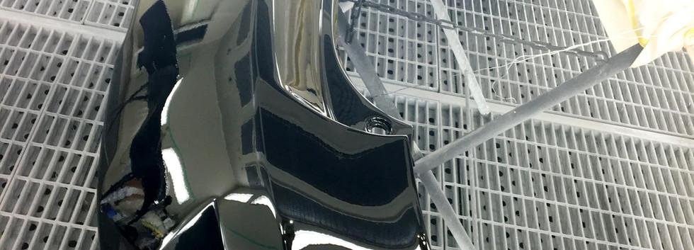 10系RX-④ 20系Fスポーツディフューザー用エアロ塗装
