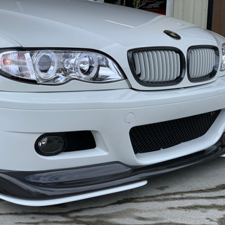 BMW 320i E46-② フロントフェイス変更