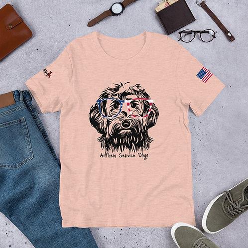 Pawtriot Doodle Short-Sleeve Unisex T-Shirt