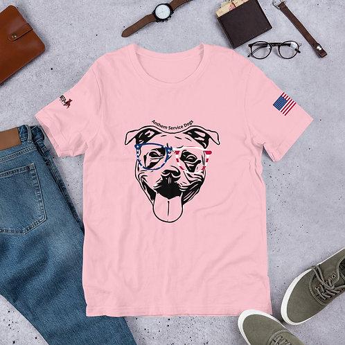 Pawtriot Bully Short-Sleeve Unisex T-Shirt