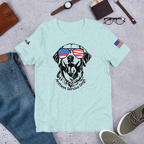 Pawtriot Retriever Short-Sleeve Unisex T-Shirt