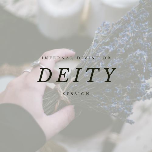DEITY | INFERNAL DIVINE SESSION