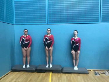 Womens 15+ Level 5, GOLD, SILVER and BRONZE
