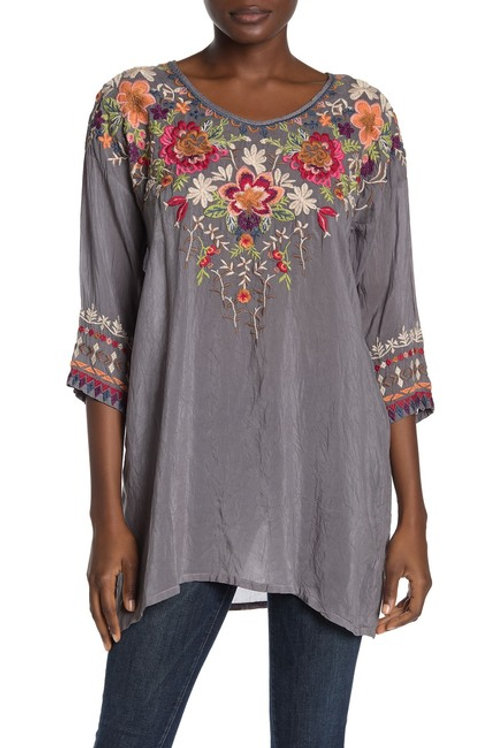 Johnny Was Shaylee Embroidered Tunic