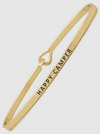HAPPY CAMPER Bangle Bracelet