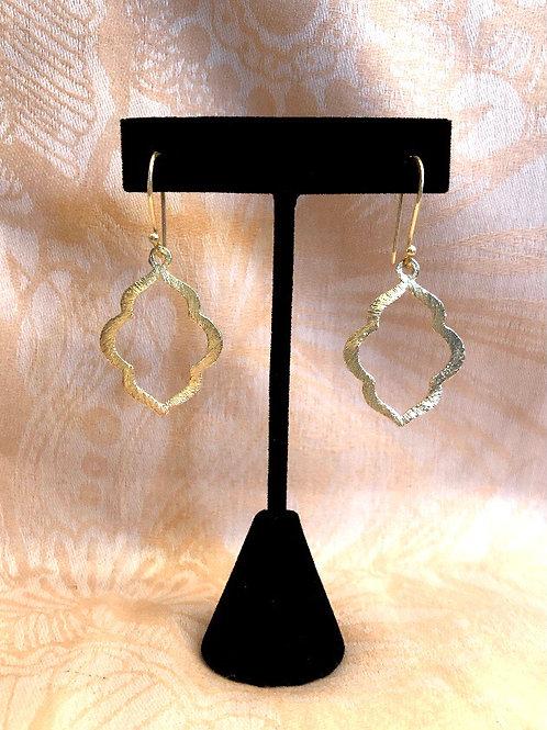 MARA DESIGN gold Moroccan earrings